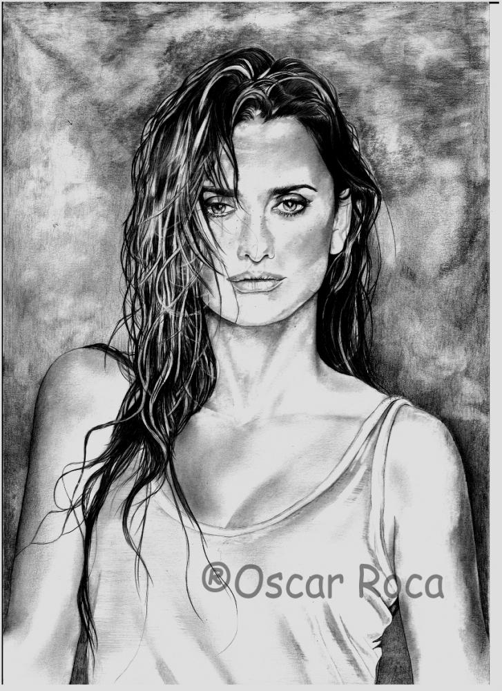 Penelope Cruz by oscar